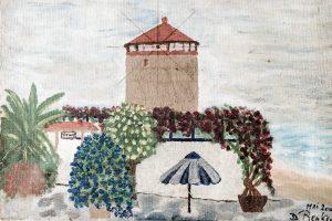 Windmill Rhodes island Greece - Mythica Tower Mill Villa